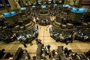 Traders work on the floor of the New York Stock Exchange, April 3, 2008. (Keith Bedford/Reuters)